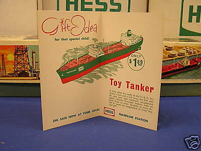 Hess 1966 Voyager Rare Seasons Greetings Gift Card