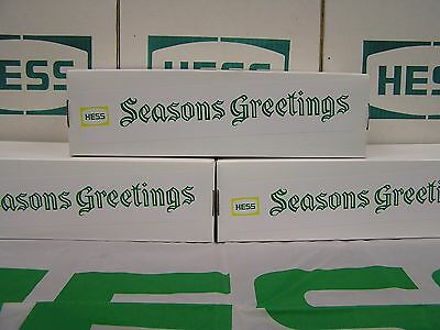 Hess 1970 1971 Seasons Greetings Fire Truck Box