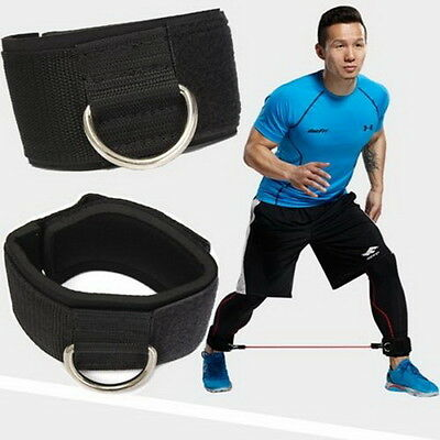 Thigh Leg Pulley Weight Lifting Ankle Strap D-ring Multi Gym Cable Attachment  び