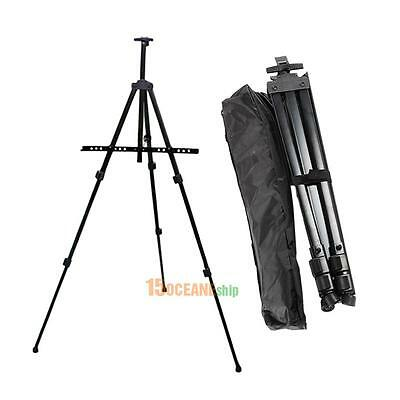 Foldable Tripod Easel Display Stand Art Artist Sketch Painting Exhibition Holder