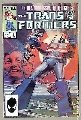 Transformers (1984 Marvel) 1st Printing #1 VG 4.0