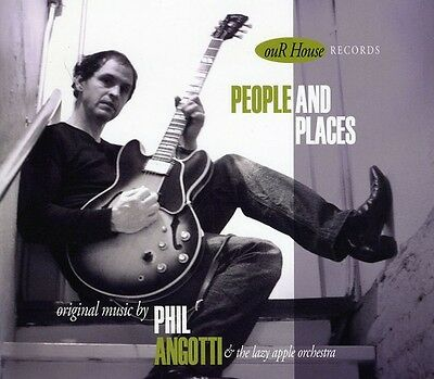 Phil Angotti - People & Places [New CD]