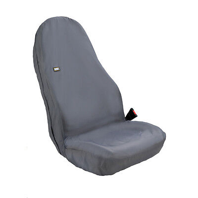 Hdd Universal Winged Front Black Seat Cover