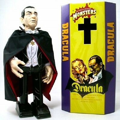 RARE Universal Monsters Dracula Tin Toy Figure Mike Company Made in JAPAN  F/S