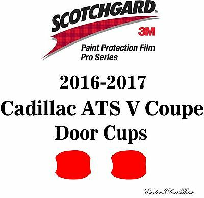 3M Scotchgard Paint Protection Film Pro Series 2016 2017 Cadillac ATS V Coupe
