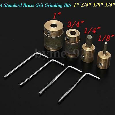 4 Strength Standard Grit Grinding Bits for Shaping Drilling Stained Glass Tool