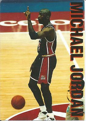 Michael Jordan - Greatest Basketball Player Of All Time - Colour Photo Postcard