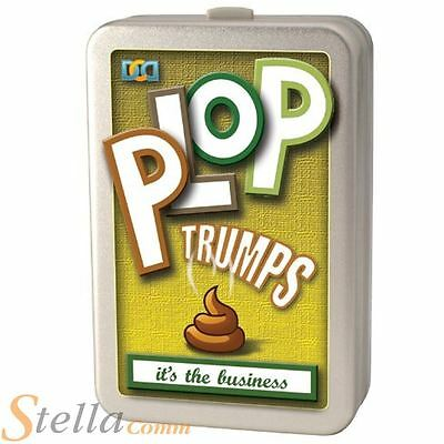 Cheatwell Games Plop Trumps Animal Poo Card Game Novelty Gift Top Kids Fun