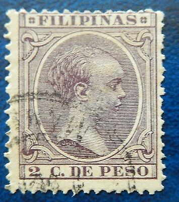 Philippines Stamp Spain  Occupation #145 Used Hinged