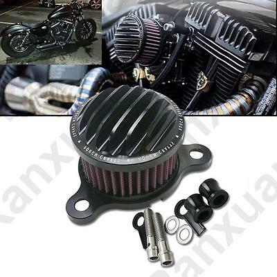 ROUGH CRAFTS Air Cleaner Intake Filter For Harley XL 883 1200 48 PARTS METAL