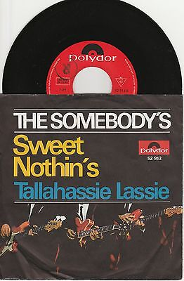 """7"""" The Somebody's Sweet Nothin's Polydor 52913"""