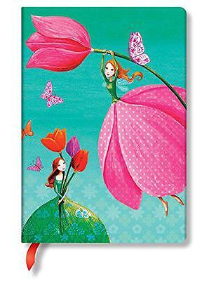 Paperblanks Mila Marquis Ruled Midi Notebook- Joyous Springtime,  -  - NEW