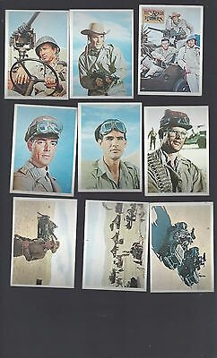 Rat Patrol 1966 Complete Card Set