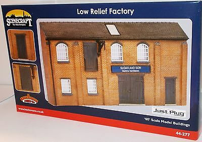 Bachmann 00 Scenecraft 44-277 - Low Relief Factory        New         (00)