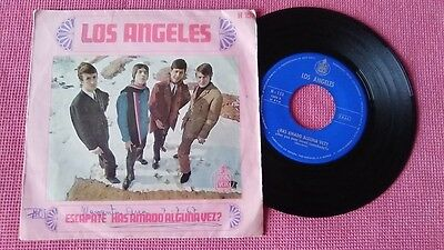 "LOS ANGELES Escapate / Has amado alguna vez? - SINGLE 7"" Spain 1967"