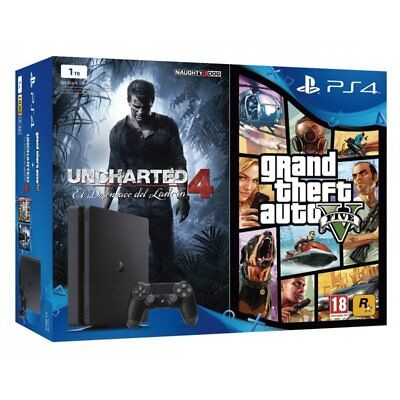 Ps4 500 Gb Chasis C Consola Playstation 4 Console Konsole Playstation4