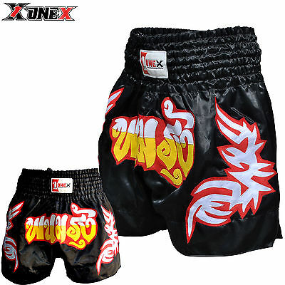 New Muay Thai Fight Shorts Martial Arts MMA Grappling Kick Boxing Trunks UFC