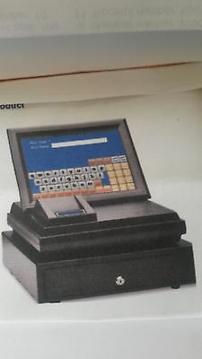 """Casino ET86 Cash register 15"""" touch screen all-in-one cafe, pubs, restaurants"""
