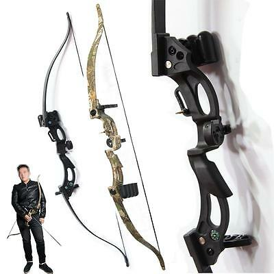 Archery Takedown Recurve Bow Set ABS Hunting Shooting Games Christmas Xmas Gift