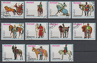 Manama soldiers,knigths,horses USED