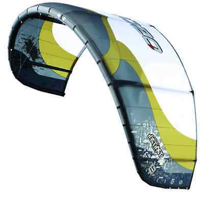 Kite surfer, spleene board, handle lines and harness. Ozone Instinct 6m kite
