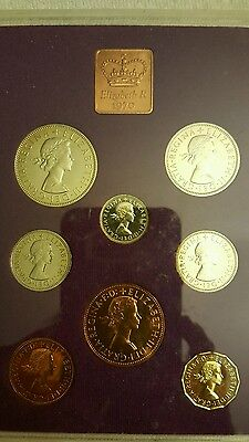 1970 Proof Set Elizabeth R