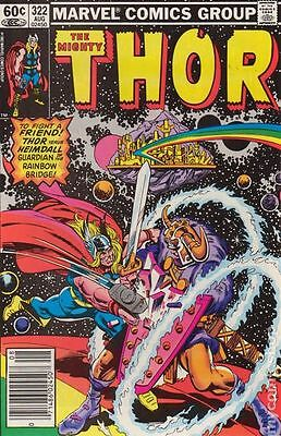 Thor (1962-1996 1st Series Journey Into Mystery) #322 FN