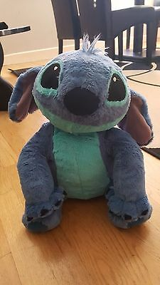 Disney Stitch From Lilo & Stitch Large Plush Soft Toy Excellent Con Christmas