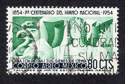 1954 Mexico 80c National Anthem SG 926 FINE USED R19838