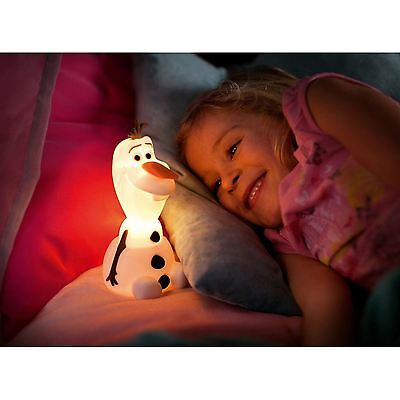 Disney Frozen Olaf Softpal Portable Led Night Light New Lamp