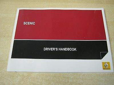 Renault Scenic Owners Manual Handbook 2013-2016 Blank  Service Section Genuine