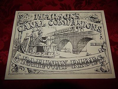 Pearsons canal companions and railway rides advertising Brochure