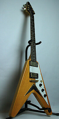 Epiphone Gibson 1958 R/I Korina Flying V with Hard Case Electric Guitar Rare