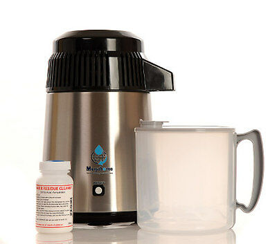 Megahome Deluxe Black Water Distiller with Polyprop Jug