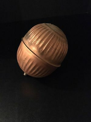 Vintage Copper Federal R Toilet Bowl Float / Bobber with Brass Thread