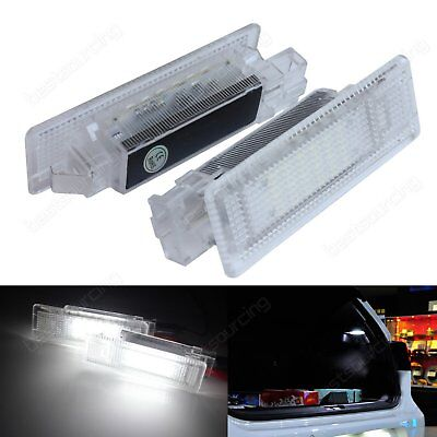 VW Canbus White LED Luggage Compartment Light Jetta Tiguan Touareg T5 Golf Plus