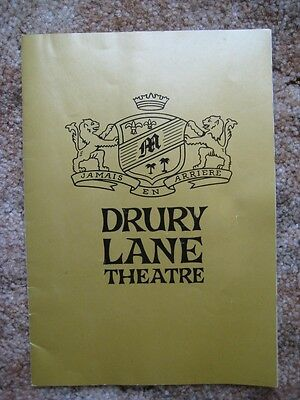 Drury Lane Theatre Nov 21 1965 Janis Paige, Remains to be Seen, Sidney Breese
