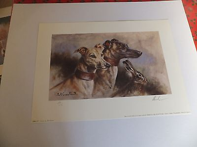 Lurchers by Mick Cawston Limited Edition print 451/850