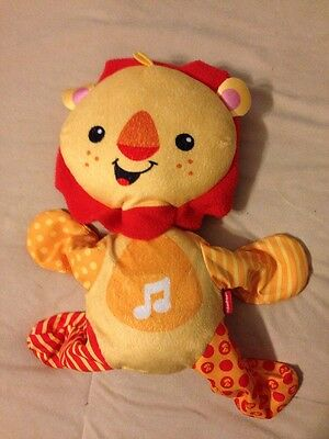 Fisher-Price Roar N Ride Lion Dancing and Singing *Missing Suction Cups