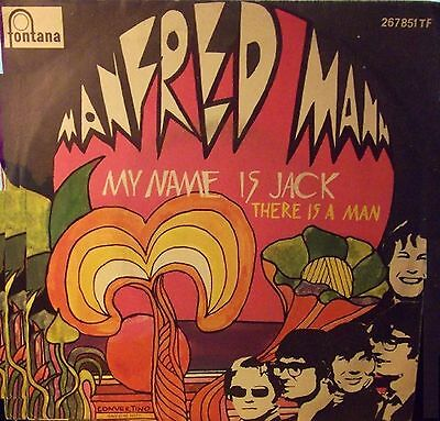 Manfred Mann My Name Is Jack / There Is A Man 7″, Single, Mono Fontana – 267 ...