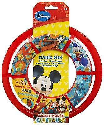 Disney Mickey Mouse Clubhouse Flying Disc Frisbee Games Fun Christmas Gift.