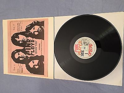 Pink Floyd Omay Yad LP, Album, Ltd, RE, Unofficial Trade Mark Of Quality – 18...