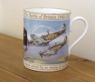 Royal Worcester Limited Edition Battle of Britain Commemorative Mug (Never Used)