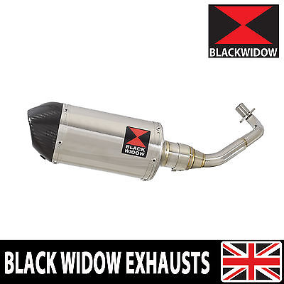 Piaggio FLY 125cc 2005 - 2011 Stainless Steel+Carbon Tip System 200ST Silencer