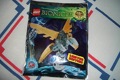 Lego Bionicle - Limited Edition Ekimu Falcon foil pack 601602 - New Sealed