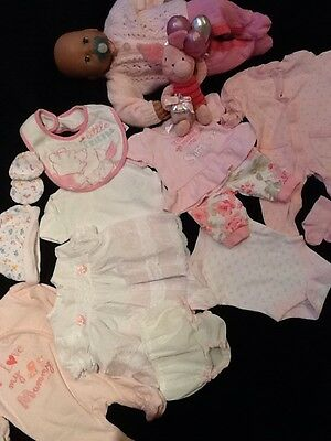 """Bundle Of Clothes To Fit Baby Annabell Dolls And Similar 18"""" 15 Items"""