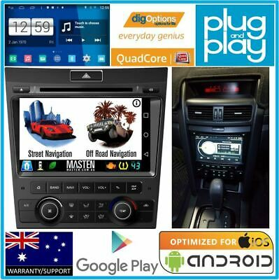 !Android GPS For Holden Commodore VE Series 1 Nav Bluetooth Stereo Car Radio DVD