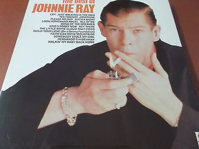 The Best Of Johnny Ray: Vinyl Lp Made In England: 1983: Spot Records