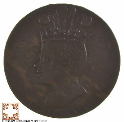 1788 Barbados Copper Penny *5693