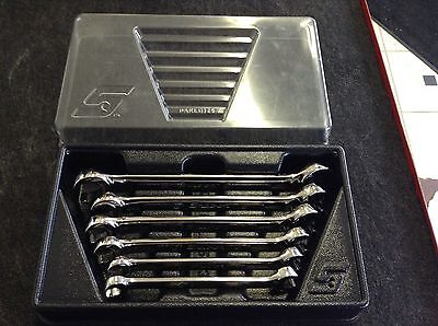 Snap On Flare Nut Line Wrench Set Metric 6 Piece 9MM-21MM RXFMS1921B